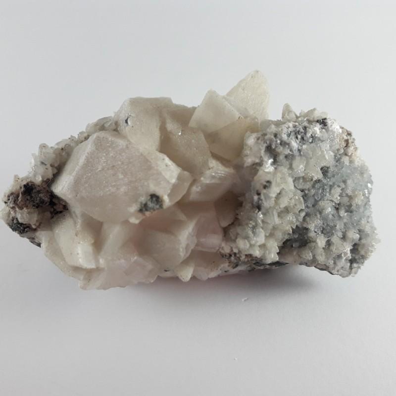 №434 Планински кристал и манганокалцит