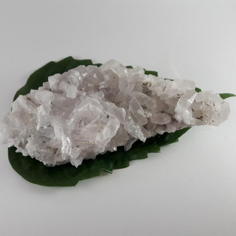 №398 Планински кристал и мангано калцит