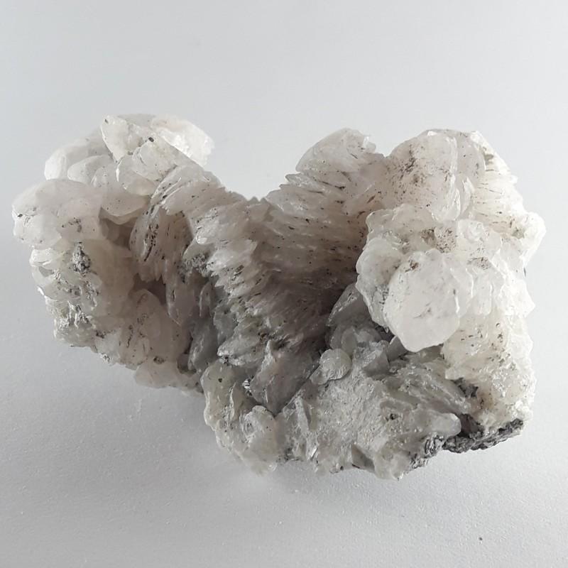 №126 Планински кристал и мангано калцит