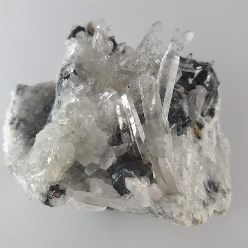№43 Планински кристал и свалерит
