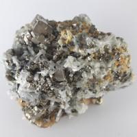 №56 Пирит, галенит, свалерит и кварц