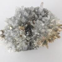 №69 Планински кристал, пирит и галенит